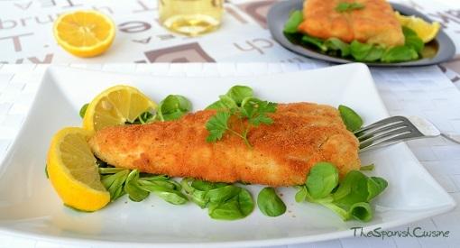 Battered Hake Fish Recipe Spanish Food Recipes
