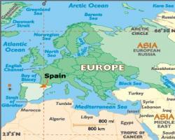 La variedad gastronómica de la cocina española se debe a la situación geográfica.