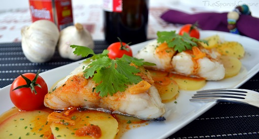 Cod fish recipe with Spanish paprika, a delicious and easy Spanish Tapas dish for fish!