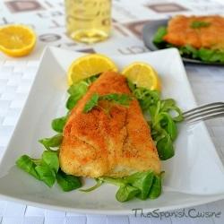 Receta de merluza rebozada, una receta de pescado casera, sencilla y rápida