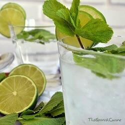 Mojito recipe! Get the original Mojito cocktail drink recipe with mint, white rum, sugar, and soda