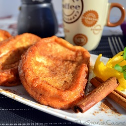 Torrijas recipe, a popular Spanish style French toast or bread pudding for Easter