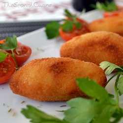 Spanish chicken croquettes