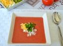Receta de gazpacho. Receta muy sencilla de gazpacho andaluz con tomates de pera!