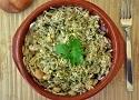 Revuelto de champiñones y gulas. Una receta casera de una tapa de revuelto con huevos muy fácil
