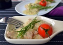 Spanish chicken recipe with almond sauce! A yummy and easy recipe for chicken thighs