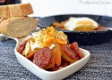 Spanish eggs with chorizo recipe, an easy and delicious Spanish Tapas recipe with chorizo