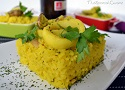 Spanish rice recipe with squid rings and clams, a famous Tapas dish!