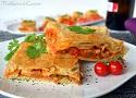 Receta de empanada de atún o empanada gallega de bonito. Una tapa muy simple y jugosa