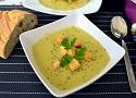 Receta de crema de calabacín con patatas, una receta fácil, sana y para vegetarianos o veganos