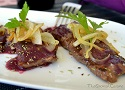 Beef tenderloin recipe with a yummy Spanish red wine sauce